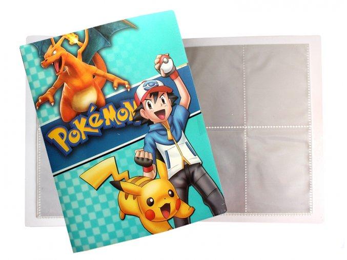 Album na sběratelské karty Pokemon 15A