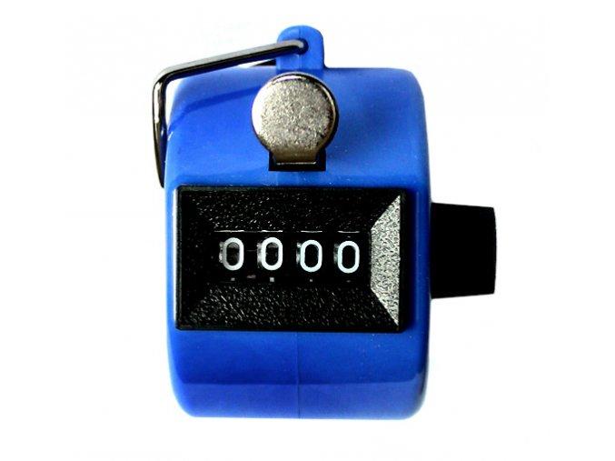 Ruční počítadlo klikátko modré 01