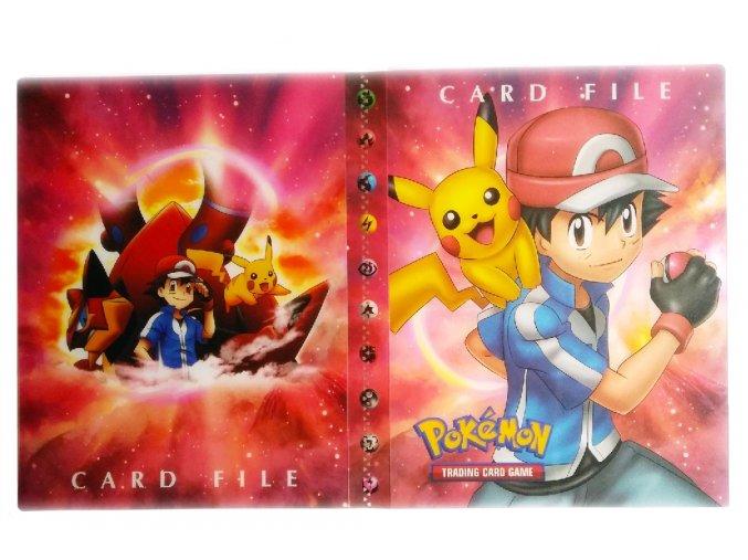 Album na sběratelské karty POKEMON Card File