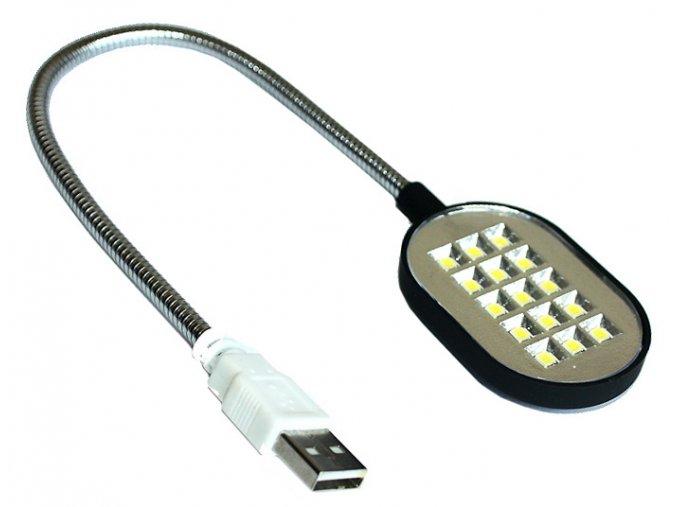 USB lampička k notebooku 15 diod 01