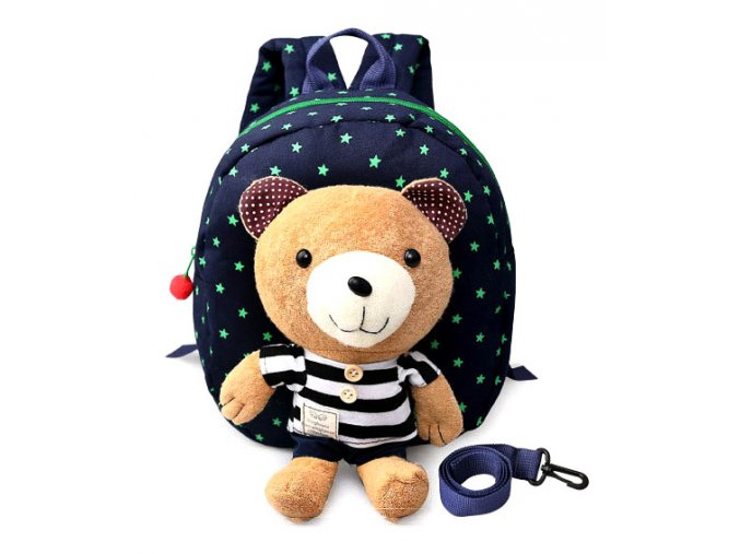 Dětský batůžek pro předškoláky Medvídek & hvězdičky 01