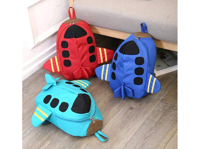 Dětské batohy do školky LETADLO
