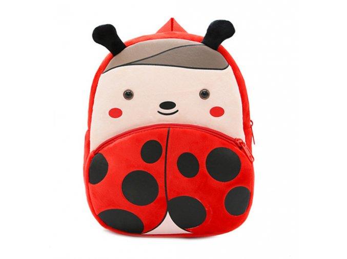 Plyšový batůžek pro předškoláky Beruška 01