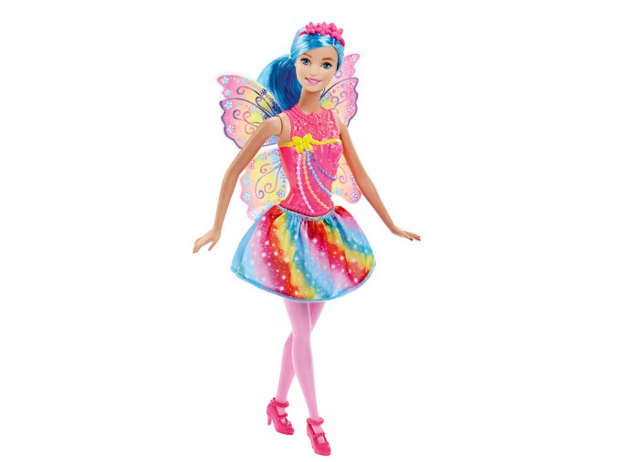 Panenka Barbie Víla Rainbow 01