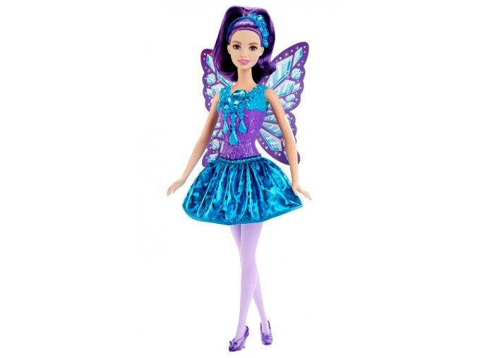 Panenka Barbie Víla Dreamtopia Purple