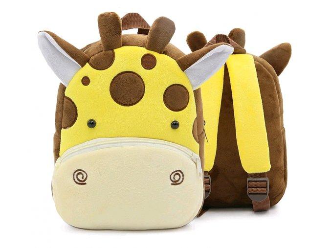 Batoh Bosevev plyšový Žirafa 01