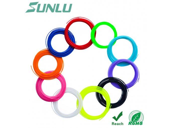 PCL struny pro 3D pera 10 barev 01
