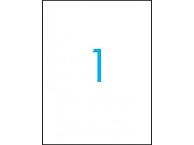 samolepicí štítky A4 do tiskárny 01
