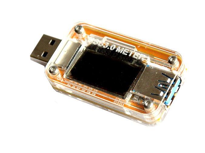 USB 3 0 voltmetr testovací přístroj