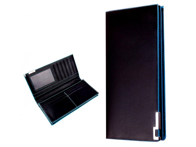 Pouzdro na mobil a karty TONSEE černé modré 01