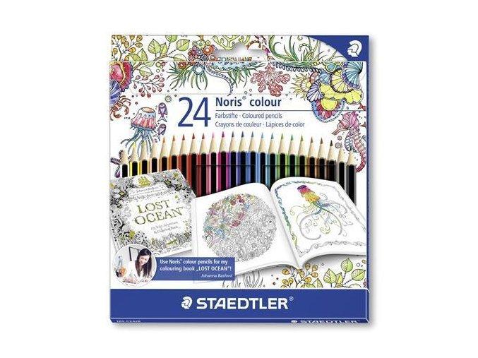 Pastelky Staedtler Noris colour 24 šestihranné
