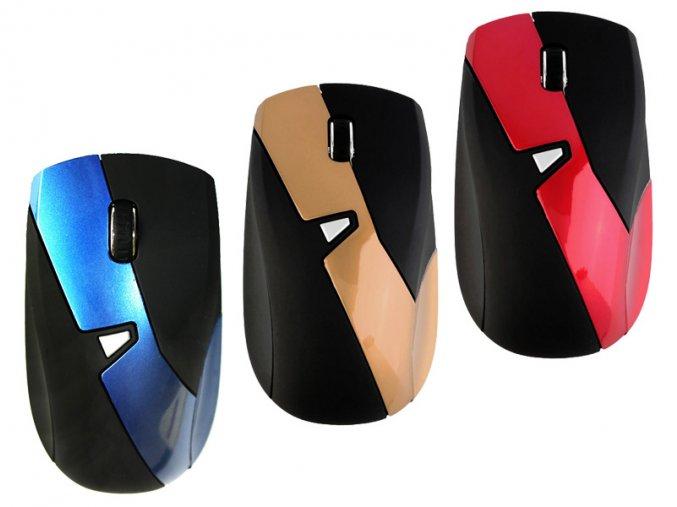 Počítačová bezdrátová myš DIAGONAL Black