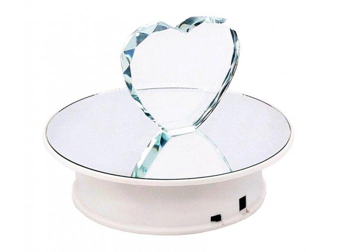 Otočný talíř pro 3D focení zrcadlový 02