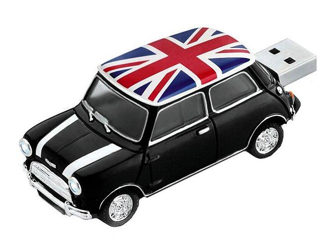 USB flash disk Auto s britskou vlajkou 01