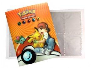 Album na sběratelské karty Pokemon 07A