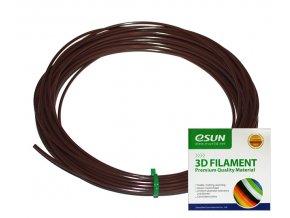 3D struny ESUN filament hnědé