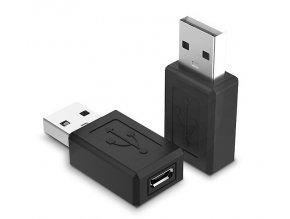 redukce microUSB female USB male 01