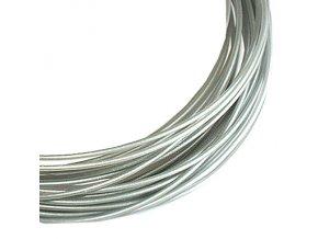 Struna filament pro 3D pera stříbrná