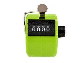 Ruční počítadlo klikátko zelené 01