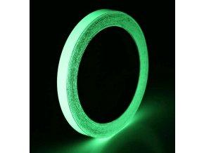 Fluorescentní samolepicí páska 1 cm 02