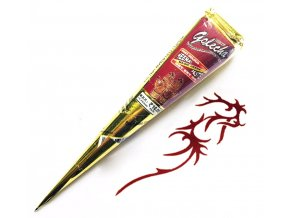 Přírodní henna červená kornoutek