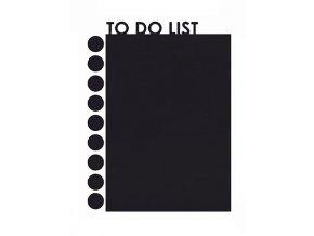 Černá poznámková tabule folie