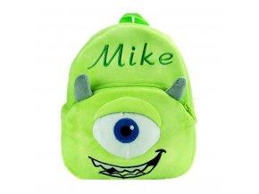 Dětský batoh plyšový Příšerky Mike 01