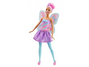 Panenka Barbie Víla Dreamtopia Pink 02