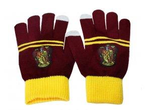 Pletené rukavice Nebelvír