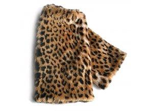 CSX kožešinové návleky na boty Leopard 01