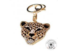 přívěšek na kabelku leopard 01