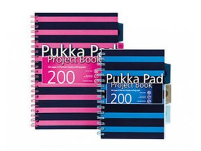 A5 Poznámkový blok Project book PUKKA PAD / STRIPES