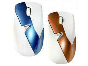Počítačová bezdrátová myš DIAGONAL White
