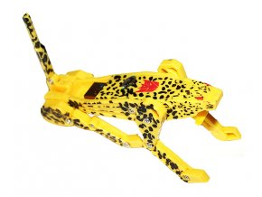 USB flash disk žlutý leopard 01