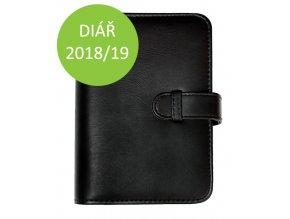 Manažerský plánovací diář 2018 2019 černý